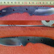 Nr.)D63 Stahl 1.2562, 67HRC