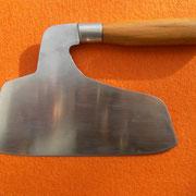 Nr.3-2013,Küchenmesser, Stahl 1.2519, Gesamt 15,5cm, Klinge 2.1mm stark.