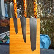 Nr.10-2013 Küchenmesser, Stahl 1.2842,