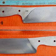 Nr.) O4,Küchenmesserklinge