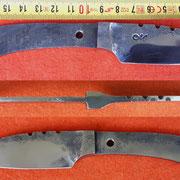"Nr.) B37,   "" Tailintegrale Klinge"""