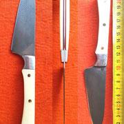 Nr.15/2014, Küchenmesser, Wolframstahl, 1,7mm stark