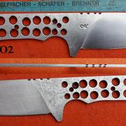 Nr.) O2, Jagdmesser , Stahl 1.3505
