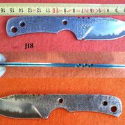 "Nr.) J18 ""3-Lagenklinge""  VA-Carbon-VA"