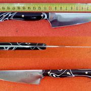 Nr.: 12/2014, Küchenmesser Stahl 1.4112, rostfrei