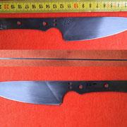 S124, Küchenmesserklinge aus Wolframstahl