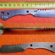 S132, Stahl 1.2842, 2,5mm stark