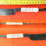 Nr.: 7-2015, japanisches Rasiermesser mit Hohlschliff, Stahl 1.2562 70HRC!