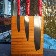 Nr.11-2013  Küchenmesser, Stahl 1.2542,