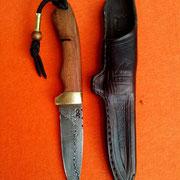 Nr.13-2013  Jagdmesser, Damaststahl