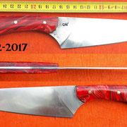 Nr.) 2-2017, Küchenmesser, Wolfram-Stahl