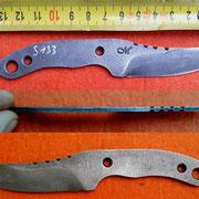 S133,Stahl 1.2842, 2,5mm stark