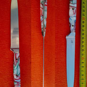 18/2013, Küchenmesser rostfrei, teilintegral
