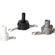 Camlock Kupplungen aus PP und PVDF, IBC