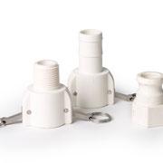 PVDF Kupplung und Adapter