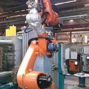 Robots de fonderie
