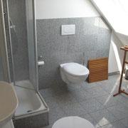 Monteurwohnung 3 Badezimmer mit Dusche