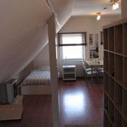 Apartment 3 Wohn- und Schlafraum