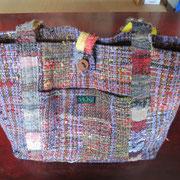 さをり織りのバック。 ¥2,500