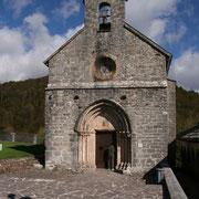 Capilla de Santiago (S. XIII) en Roncesvalles/Orreaga (Navarra)