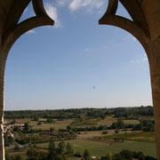 La vue de la tour de la Sauve-Majeure