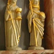 Jakobusstatue in der Torsted Kirke