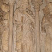 Bordeaux, Basilique Saint-Michel, Statue de Saint-Jacques
