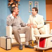 André St-Onge, Patrick Potvin - Oscar - Théâtre de l'Île - 2013 - Photo Marianne Duval