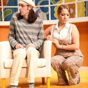 Marc-André Tessier, Josianne Lavoie - Oscar - Théâtre de l'Île - 2013 - Photo Marianne Duval