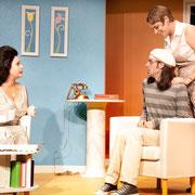 Virginie Houët, Marc-André Tessier, Josianne Lavoie - Oscar - Théâtre de l'Île - 2013 - Photo Marianne Duval