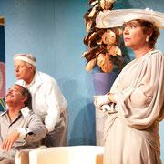 André St-Onge, Alain Lapszynski, Manon Lafrenière- Oscar - Théâtre de l'Île - 2013 - Photo Marianne Duval