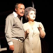 André St-Onge, Virginie Houët - Oscar - Théâtre de l'Île - 2013 - Photo Marianne Duval
