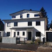 DH mit modernem Satteldach und großer Dachterrasse, München Moosach