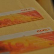 UHU-Lotto, Preis in COOP-Gutscheinen