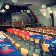 UHU-Lotto, Lottosaal