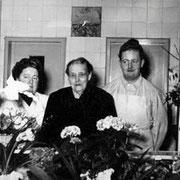 Martha, Laura und Fritz Hönnger jun.
