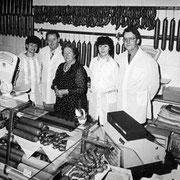 Lore & Fritz Hönnger, Martha, Heidi & Wolfgang Hönnger 80er Jahre