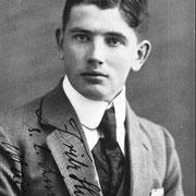 Fritz Franz Ferdinand Hönnger in jungen Jahren
