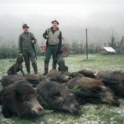 Jagd in Mecklenburg 2001