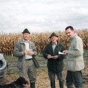 Richtergruppe bei einer VGP 1998