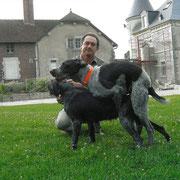 Yommi vom Donaueck und Sancho del Zeffiro 2003