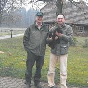 Hermann Hellwinkel und Castro II vom Spanger-Forst 2007