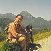 Bergwanderung mit Karlo von der Hofmark 2011