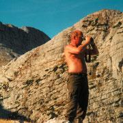 Gamsjagd am Dachstein 2001 mit Josef Moll