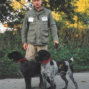 Hegewald 2006 in Geseke mit Karlo von der Hofmark u. Geisha III del Zeffiro