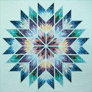 Primsatic Star Queen quiltworx pattern