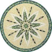 Evergreen Tree Skirt Quiltworx pattern