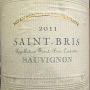Saint-Bris Sauvignon 2011