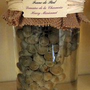 Grappe de Sauvignon non greffée de 2005 mise dans le formol