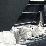Restes de gisants modernes